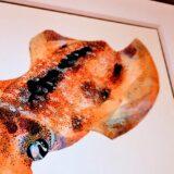 根津で長嶋祐成さんの魚譜と岡村悠紀さんの蟹の自在置物をみてきた
