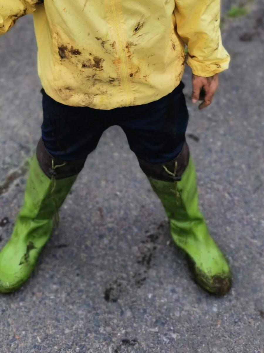 子どもの長靴